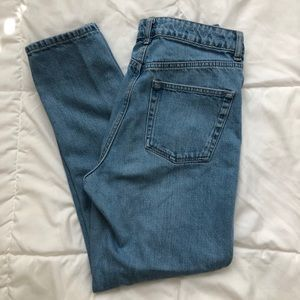 High Waisted Topshop Jeans